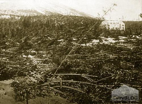 Kalamita Tatranská Polianka - 1915