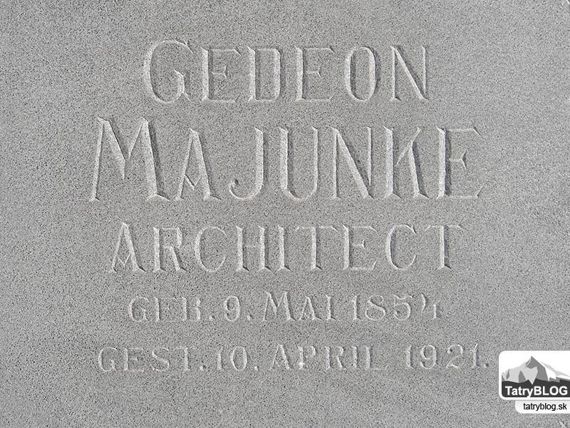 Gedeon Majunke – 160 rokov od narodenia