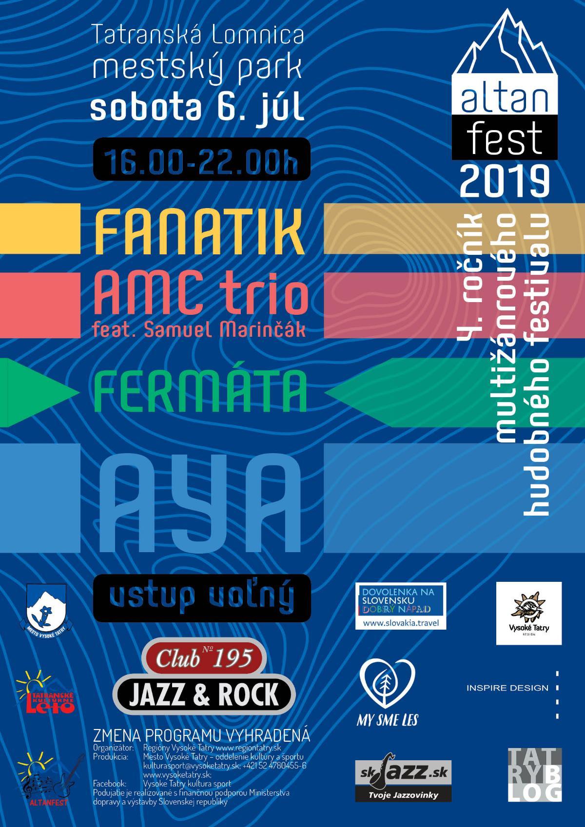 AltanFest 2019 (aktualizované)